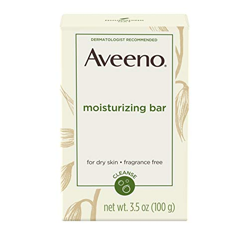 Aveeno Active Naturals Moisturizing Bar for Dry Skin 100g (Lotionen) - Lotion Bar