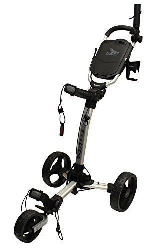 Axglo Trilite Chariot de Golf Mixte Adulte, Gris/Noir