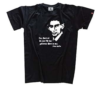 Franz Kafka - Das Buch ist die Axt für das gefrorene Meer in uns T-Shirt Schwarz XXL