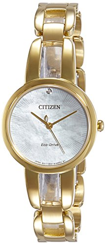 Citizen Analog Mother of Pearl Dial Women's Watch - EM0432-80Y