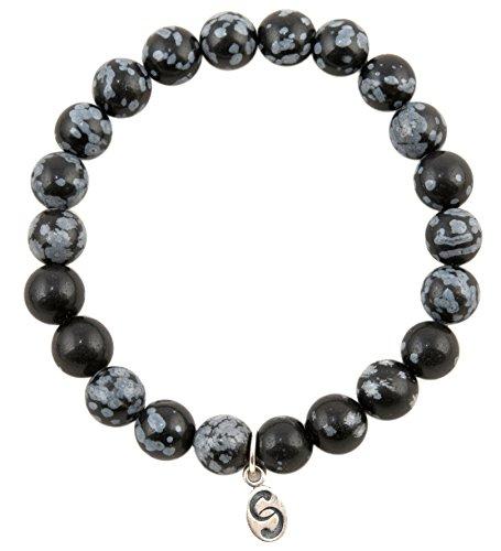 apoccas-semi-precieux-cristal-bracelet-agni-obsidienne-flocon-de-neige-gris-noir-8-mm-balle-taille-e