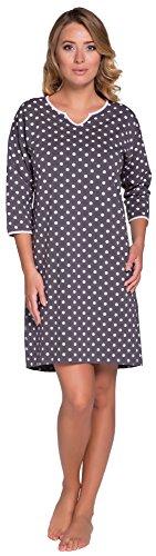 Italian Fashion IF Camicie da Notte per Donna Negra 0111 Rosa