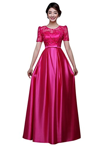 Drasawee - Robe - Taille empire - Femme Rosyred
