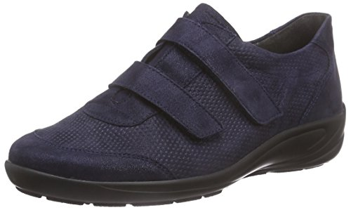 Semler Birgit Damen Slipper Blau (080 - midnightblue)