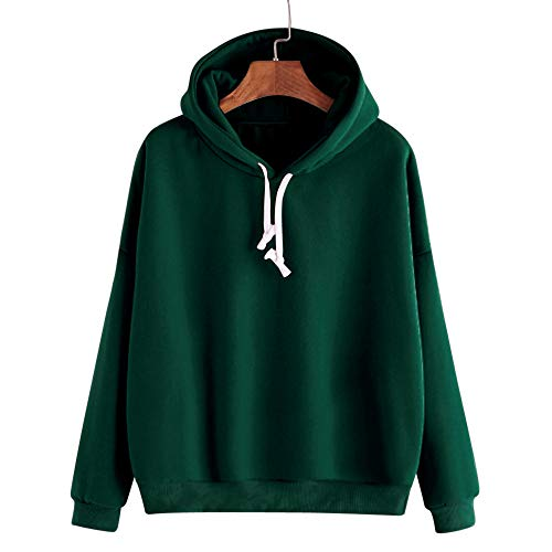 Sweatshirts Damen Streetwear Frauen Langarm Casual Kapuzenpullover Pullover Top Bluse SANFASHION