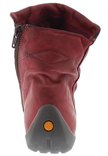 softinos NAT332SOF washed leather HW17 Rot