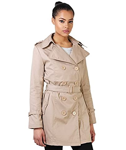4397-STN-16: Manteau Trench Coat