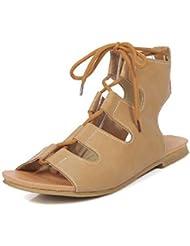 Beauqueen Pumps Sandales Femmes Printemps Et Eté Plat Crocs Dentelle Femmes Sandales Chaussures Occasionnels Taille Spéciale Europe Taille 32-43 , 36