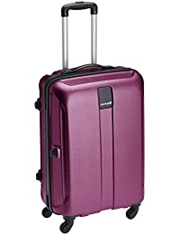 Safari Thorium Polycarbonate 77 (cms) Purple Hardsided Suitcase (Thorium-Stubble-Magenta-Purple-77-4WH)