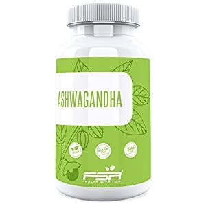 Ashwagandha 90 Kapseln, KSM-66 organisch, 500 mg pro Kapsel, 5% Withanolide, Vegan – Made in Germany – FSA Nutrition