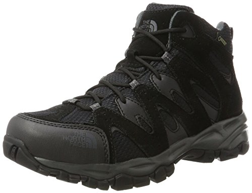 The North Face Storm Hike Mid Gore-Tex EU, Chaussures de Randonnée Hautes Homme, TNF Noir/Gris Foncé Multicolore (Tnf Black/dark Shadow Grey)