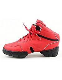 ZQ@QXModerno Fitness Gimnasia belleza zapatos aumento alto, transpirable, resistente al desgaste de tamaño grande...