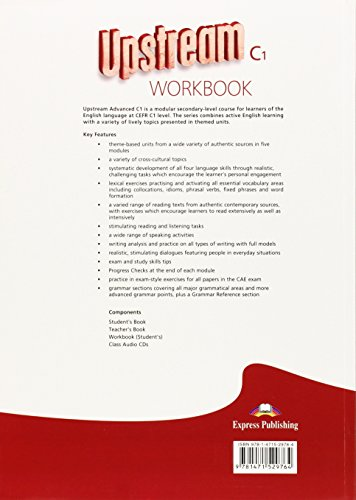 Upstream Advanced C1 - Revised Workbook (Student's)