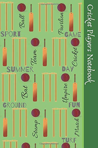 Handy-cricket (Cricket Players Notebook: Handy Notebook For All Fans Or Players Of The Greatest Sport In The World, Cricket)