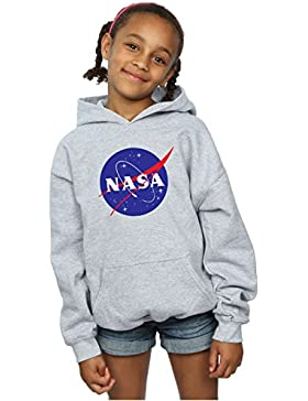 [Sponsorizzato]NASA Bambine e ragazze Classic Insignia Logo Felpa Con Cappuccio 12-13 years Sport Grigio
