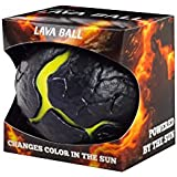 Waboba Lava Ball with Sky High Bounce for Kids Above 12 Months (Black)