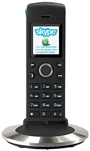 rtx-dualphone-4088-telefono-voip-inalambrico-negro-y-plateado-importado