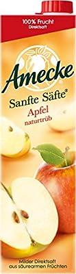Amecke Sanfte Säfte Apfel Naturtrüb, 6er Pack (6 x 1 l)