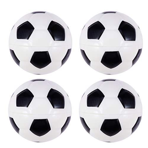 Amosfun 8pcs PU Fußball Mini Soft Sport Sport Bälle Thema Party Spiel Bälle Spielzeug für Kinder Kleinkinder