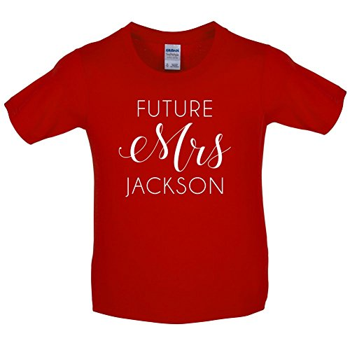 Future Mrs Jackson - Childrens / Kids T-Shirt - 10 Colours - Ages 3-14 Years