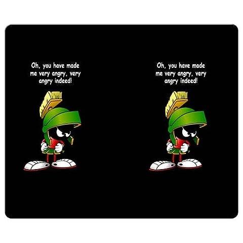 26x 21cm Chiffon Gaming Mouse Coussinets de 25,4x 20,3cm * en caoutchouc de grande qualité antidérapant Marvin le Martien