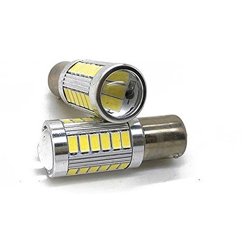 LEDHOLYT 2pcs 25W White 1156 XTE LED Turn Signal Front rear Backup Light 1141 1073 7506 Reverse Bulb High Power