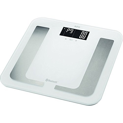 AEG PW 5653 BT - personal scales (LCD, White, Square, AAA, Alkaline, Glass) by AEG