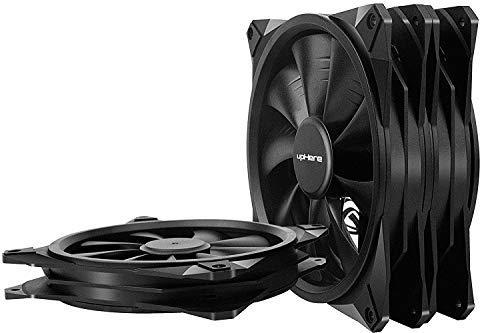 upHere lang Life Computer Case Fan 140 mm Cooling Gehäuselüfter für Computer Fällen Kühlung, 3-Pack(BK143-3)