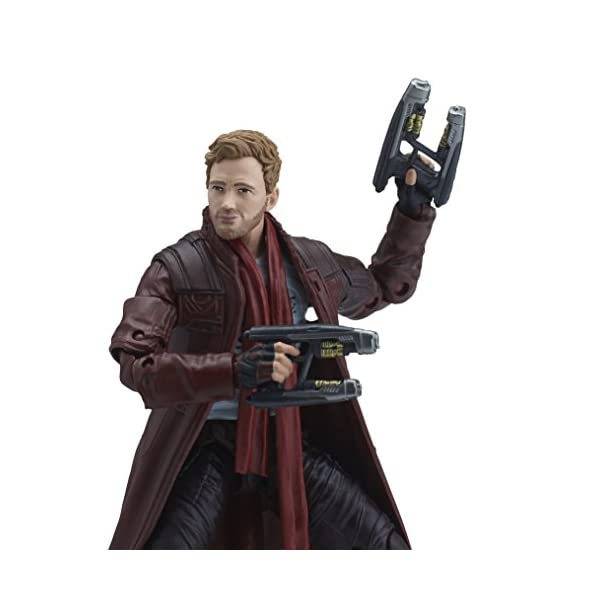 Marvel Guardianes de la Galaxy Leyendas Series Star-Lord, 15,2 cm 5