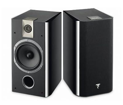 "Focal Chorus 705 Black loudspeaker - loudspeakers (Speaker set unit, 2-way, Tabletop/bookshelf, Wall-mountable, Closed, 2.54 cm (1""), 12.7 cm (5"")) in promozione - Polaris Audio Hi Fi"