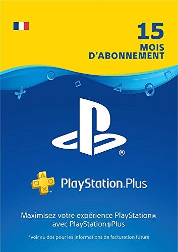 Prime Day: PlayStation Plus: abonnement de 15 mois | Code Jeu PSN PS4 - Compte français