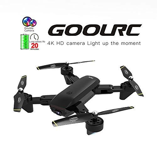 Mobiliarbus RC Quadcopter GoolRC SG700-D FPV RC Drone con Telecamera 4K HD grandangolare Flusso Ottico di Posizionamento Follow Me Altitude Hold Quadcopter