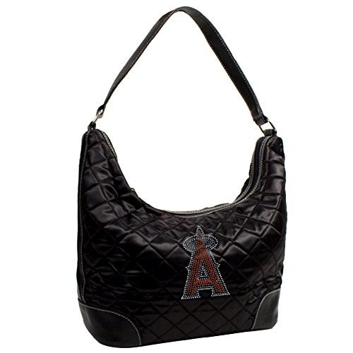 mlb-los-angeles-angels-sport-noir-quilted-hobo-bag-black-by-littlearth