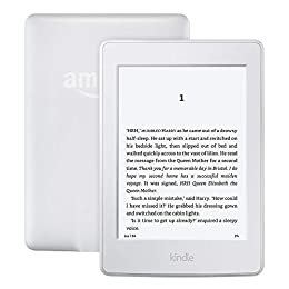 "Kindle Paperwhite–Previous Generation (7th), 6"" Display, Built-in Light, 3G + Wi-Fi, White, with Special Offers"