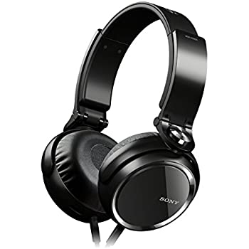 Sony MDRXB600B Overhead Extra Bass Headphones - Black