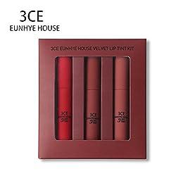 3CE Eunhye House Lip Glaze Set Matte Easy to wear Long-lasting waterproof Lip glaze liquid lipstick in one NEW