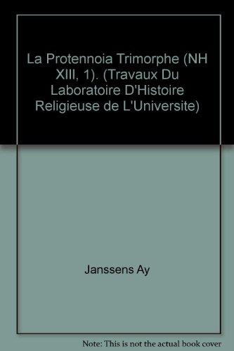 La prôtennoia trimorphe : (NH XIII, 1) (BCNH Textes)