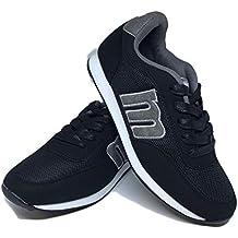 6dbbe12a162 Amazon.es  zapatillas mustang hombre negras