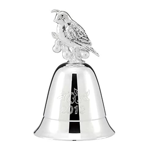 Lenox Annual 2012 musical silverplate bell by Lenox