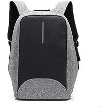 Mochila antirrobo 15.6 pulgadas portátil mochila con puerto de carga externa USB para la escuela de