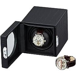 Auer Accessories Hektor 2901PU-D-F Uhrenbeweger Mit Beleuchtung