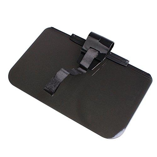 Preisvergleich Produktbild WINOMO Auto Anti-Glare getönten Windschutzscheibe Extender - Anti-Glare Sun UV Strahlen Block Visor Extender für jeden Auto LKW oder RV (schwarz)