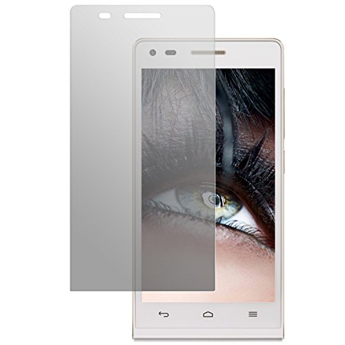 dipos I 2X Schutzfolie matt passend für Huawei Ascend P7 Mini Folie Bildschirmschutzfolie