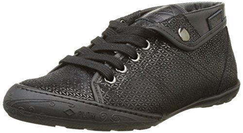PLDM by Palladium Gaetane Mbr, Baskets Hautes Femme Noir (Black)