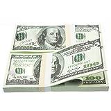 Pudincoco 10 TEILE/SATZ Amerikanische Goldfolie Dollar Banknote Gefälschte Geld Kunsthandwerk Hoch Sammlung Kunst Bastelbedarf Geschenk (gold)