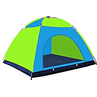 YuLinStyle Hand-carrying 10-12 People Tent Single-layer Camping Camping Rainproof Tent Outdoor Tourist Tent outdoor tent tunnel kids (Color : Color matching)
