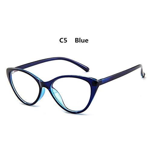 YMTP Weinlese Schicke Katzen Augen Glas Rahmen Schauspiel Rahmen Klare Optische Brillen