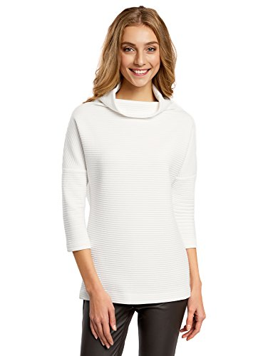 oodji-collection-womens-textured-stand-collar-pullover-white-uk-14-eu-44-xl