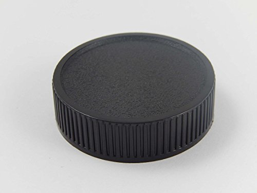 vhbw Objektiv Deckel Cap Abdeckung schwarz M42-Bajonett für Exakta, Fujica, Pentax, Praktica, Zeiss, Zenit