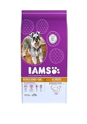 Iams Dog Food Mature / Senior Chicken 12kg